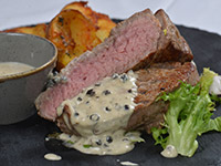 Biftek u sosu od bibera